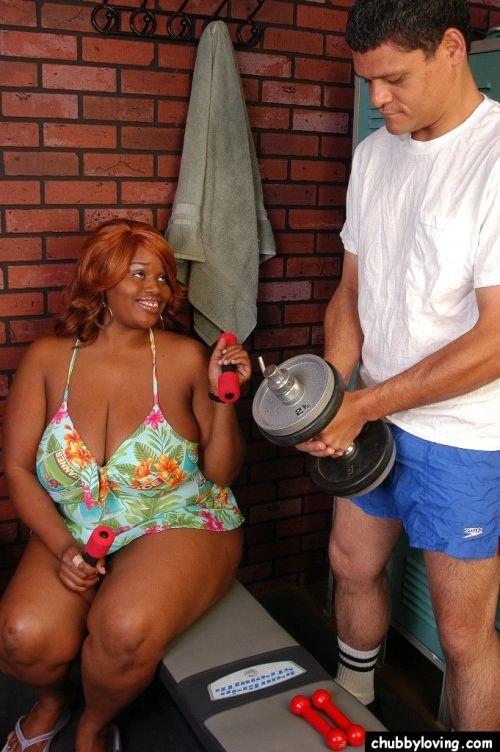 Obese older black lady Princess taking cumshot on saggy tits after titjob